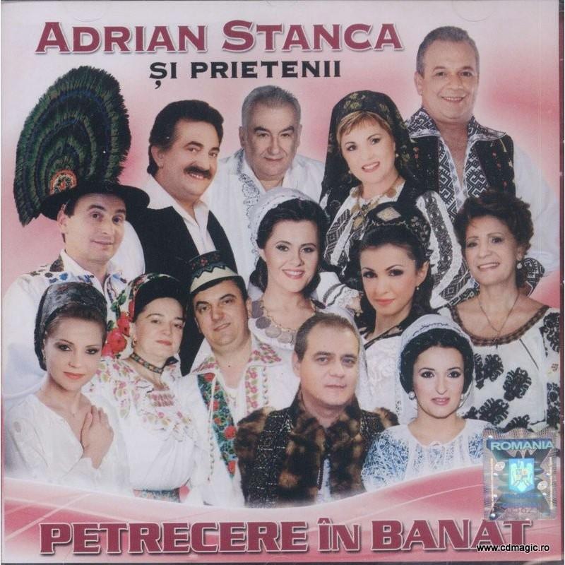 Adrian Stanca Si Prietenii Petrecere In Banat Cd Magic